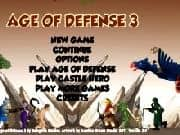 Juego Age of Defense 3