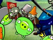 Juego Angry Birds vs Zombies