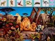 Juego Animals Hidden Objects