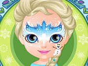 Juego Baby Barbie Frozen Face Painting