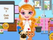 Juego Baby Barbie Pet Hospital