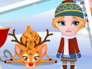 Juego Baby Barbie Rudolf Injury