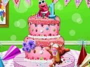 Juego Baby First Birthday Cake