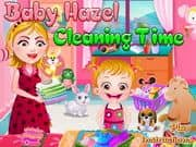 Juego Baby Hazel Cleaning Time