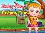 Juego Baby Hazel Fishing Time