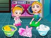 Juego Baby Hazel Laundry Time