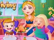 Juego Baby Hazel Thanksgiving Day
