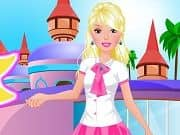 Juego Barbie Going To School