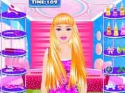 Juego Barbie Hairstyle Studio