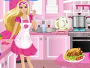 Juego Barbie Party Cleanup