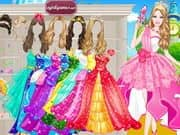Juego de Barbie Prom Princess Dress Up
