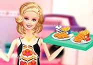 Juego de Barbie Waitress Fashion