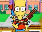 Juego Bart Simpson Defense