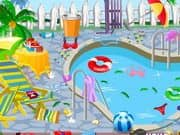 Juego Clean My Pool Area