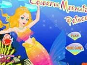 Juego Colorful Mermaid Princess