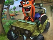 Juego Crash Bandicoot Jeep Ride
