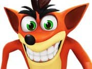 Juego Crash Bandicoot Flash