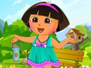 Juego Cute Dora Dress Up