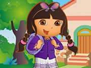 Juego Dora At School Dress Up
