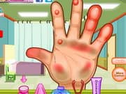 Juego Dora Hand Doctor Caring