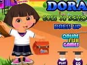 Juego Dora New Semester Dress Up