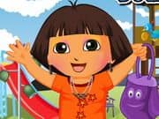 Juego Dora Out To Park Dressup