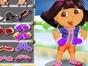 Juego Dora The Winter Explorer Dressup