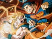 Animacion Dragon Ball Goku contra Superman