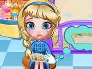 Juego Elsa Bed Time