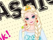 Juego Elsa Frozen Fashion Cover