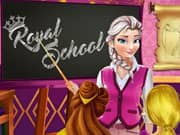 Juego Elsa Frozen Royal School