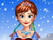 Juego Frozen Anna Natural Makeover