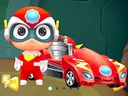 Juego Happy SuperMan Car Transformers