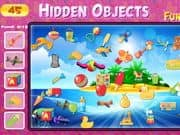 Juego Hidden Objects Funny Toys