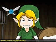 Animacion Link and the Chickens