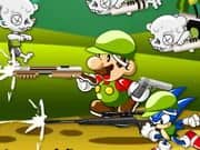 Juego Mario And Sonic Zombie Killer