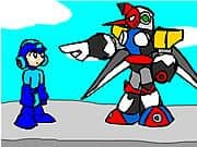 Animacion Mega Man and the Pompous Robots