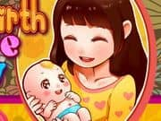 Juego Mom Give Birth newborn Babys