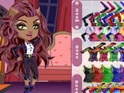 Juego Monster High Chibi Clawdeen Wolf Dress Up