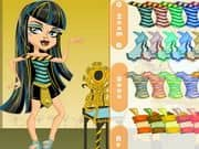 Juego Monster High Chibi Cleo De Nile Dress Up