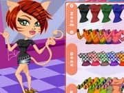 Juego Monster High Chibi Toralei Dress Up