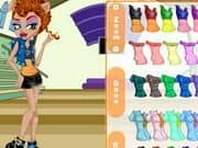 Juego Monster High Howleen Wolf Dress Up