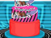 Juego Monster High Wedding Cake Decor