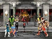 Animacion Mortal Kombat vs Street Fighter 1