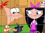 Juego Phineas And Ferb Spin Puzzle