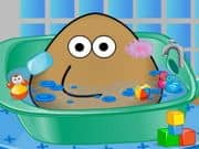 Juego Pou Bath And Care