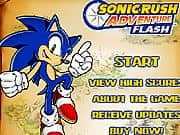 Juego Sonic Rush Adventure Flash
