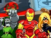 Juego Stark Tower Defense de Super Heroes