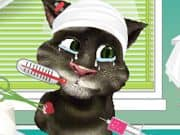 Juego Talking Tom after injury