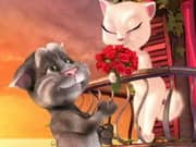 Juego Talking Tom Cat Romance con Angela